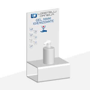 Espositore gel igienizzante